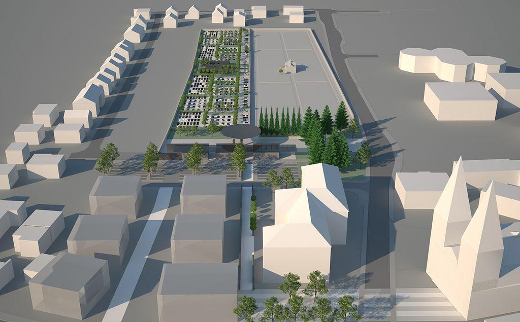 V Polju bo najsodobnejše pokopališče v mestu