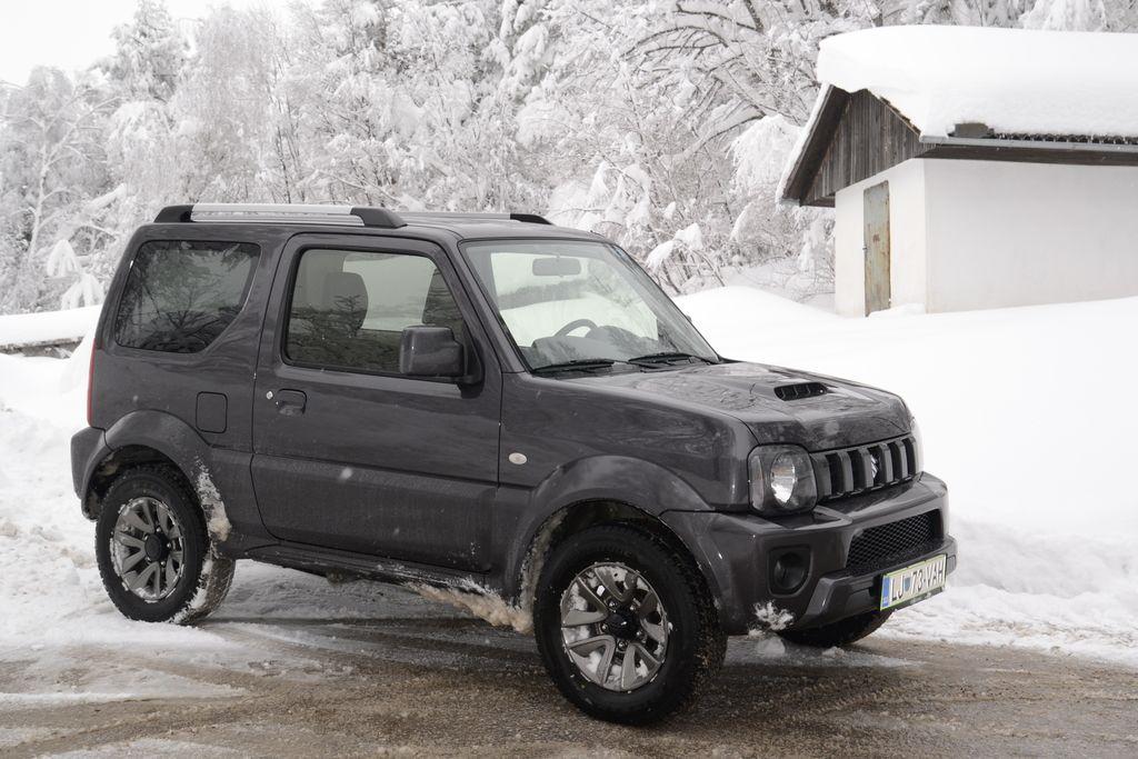 Preizkusili smo: Suzuki jimny 1.3 VVT 4x4 AC style