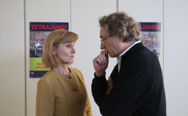 Branimir Štrukelj in Lilijana Kozlovič