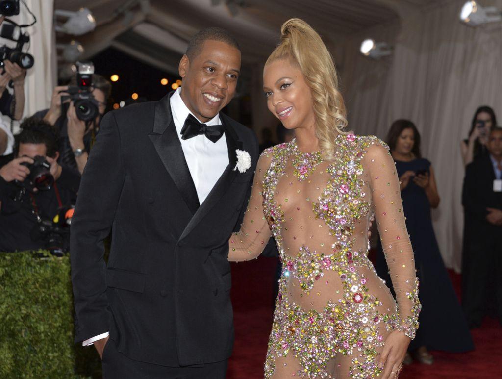 Beyonce in Jay-Z skupaj na odru