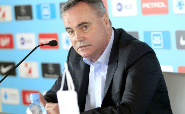 Tomaž Kavčič,selektor slovenske nogometne reprezentance,Ljubljana Slovenija 14.03.2018 [Portret]