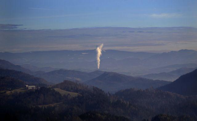 Termo elektrarna Šoštanj,Černivc Slovenija 07.02.2018 [Okolje,onesnaževanje]