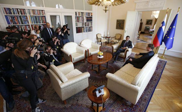 Pahor in Cerar