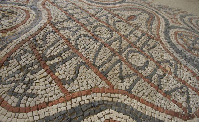 Arheološki park Zgodnjekrščansko središče na Erjavčevi ulici v Ljubljani, 18. aprila 2014