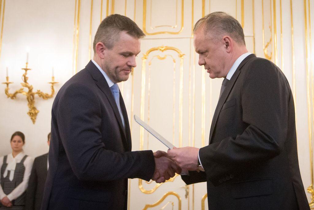 Slovaški predsednik zavrnil ministrsko ekipo, ki jo je predlagal Pellegrini