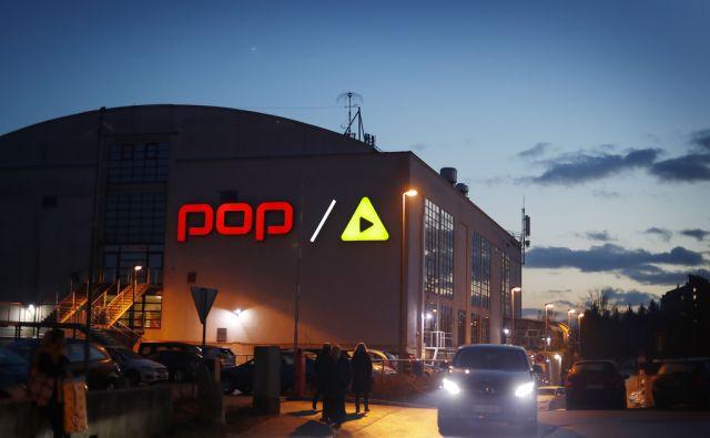 Pro plus. Ljubljana, 10. Januar 2017 [pro plus,pop tv,a kanal,stavbe,mediji,medijske hiše,Ljubljana]