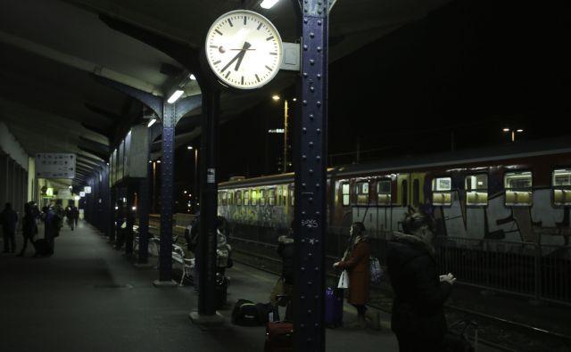 Vlak Ljubljana Trst (Ljubljana) 23.1.2015