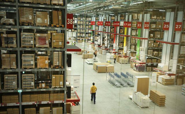 Pred odprtjem trgovine Ikea v vzhodnem gospodarsko-poslovnem središču v Zagrebu 19.avgusta 2014.