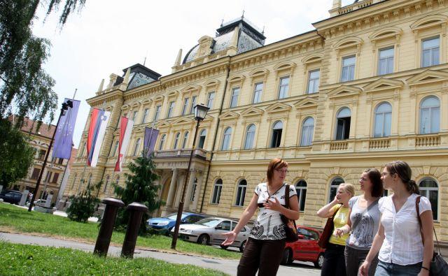Slovenija, Maribor, 27.6.2008 - Mariborska univerza  foto:Tadej Regent/Delo