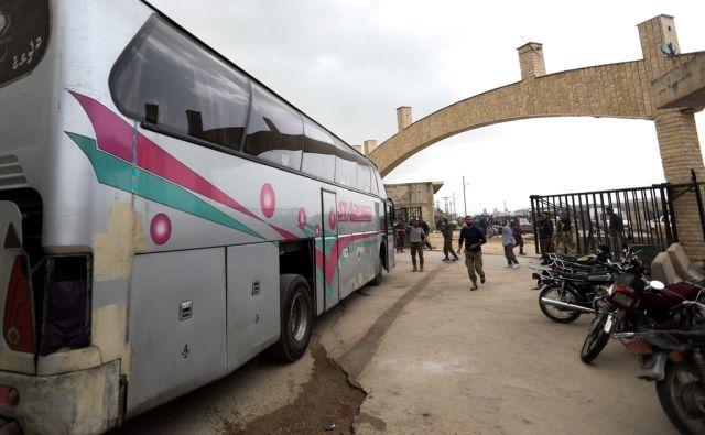 SYRIA-CONFLICT-EVACUATIONS