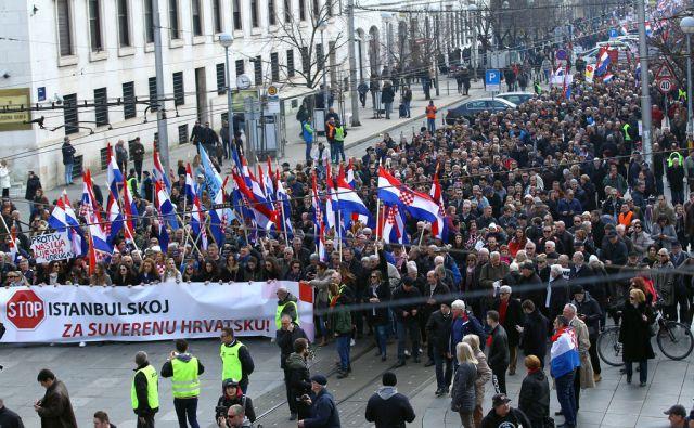 CROATIA-PROTESTS/