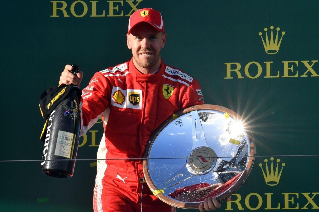 Vettel s srečo na vrh, zato bo moral poslej pokazati več