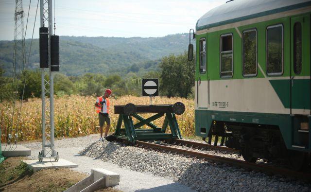 jer Drugi tir, Slovenske železnice