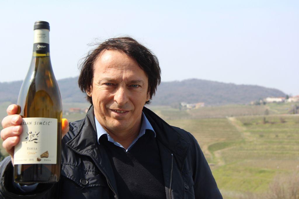 Simčičevo slovensko vino na prestolu