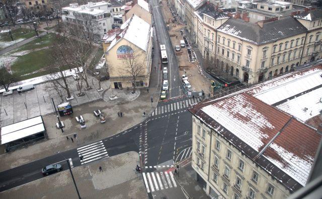 Gosposvetska ulica. V Ljubljani 19.3.2018[Gosposvetska ulica.Ljubljana]