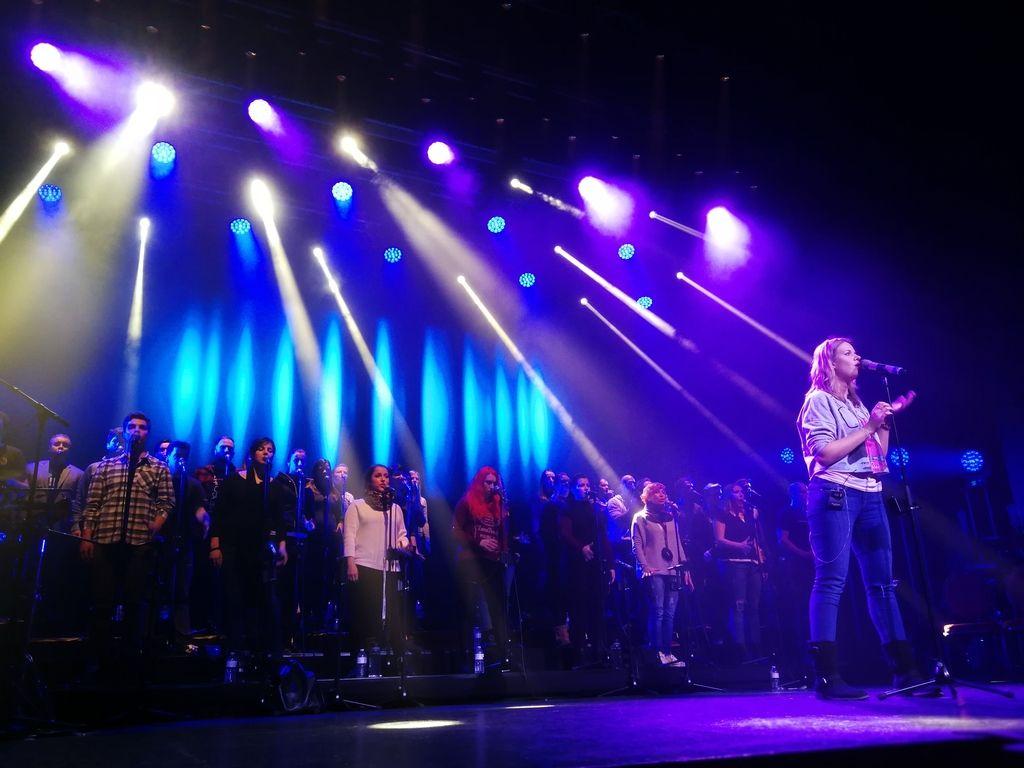 Perpetuum Jazzile - Spektakel v Belgiji
