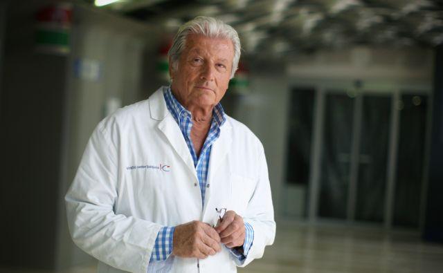 Vinko Dolenc, svetovno znani nevrokirurg. Ljubljana 30.julija, 2013.