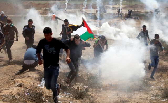 ISRAEL-PALESTINIANS/PROTESTS