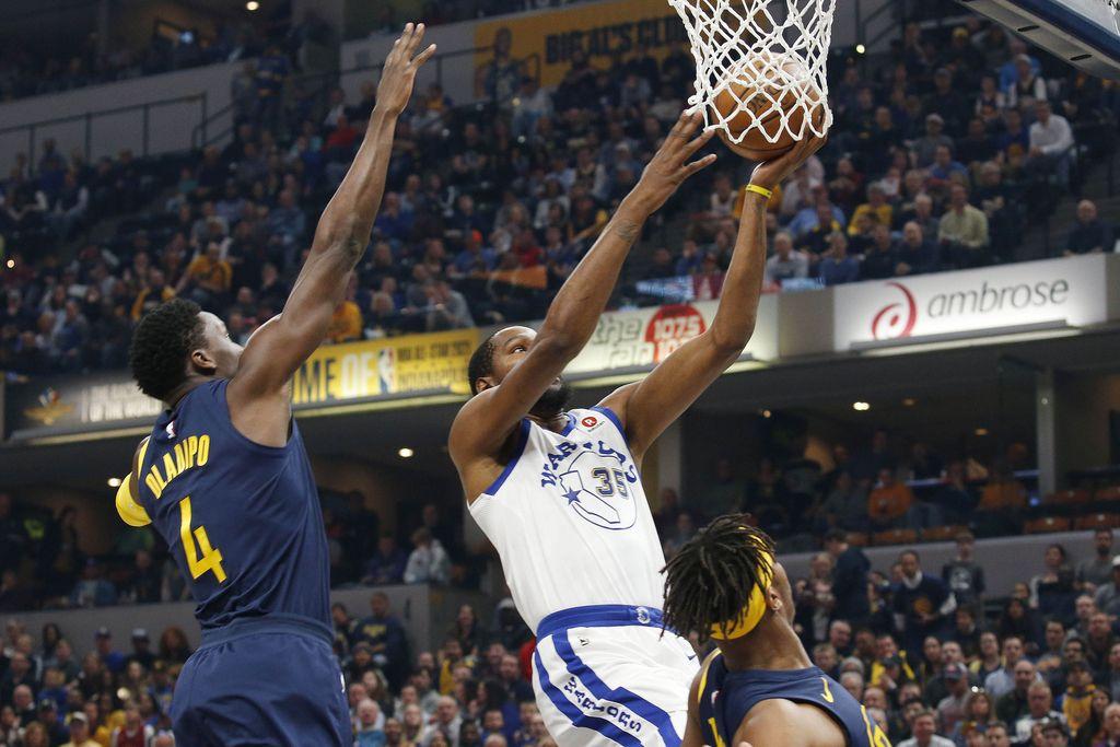 NBA: Indiana odčitala lekcijo prvakom (VIDEO)