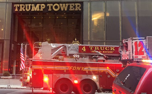 US-FIRE-TRUMP-TOWER