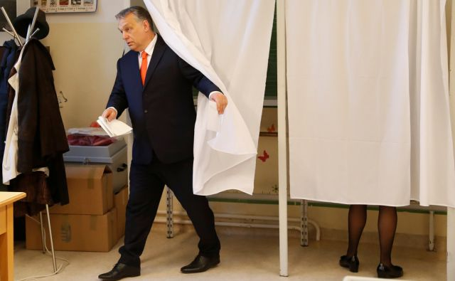 HUNGARY-ELECTION/ORBAN-VOTING