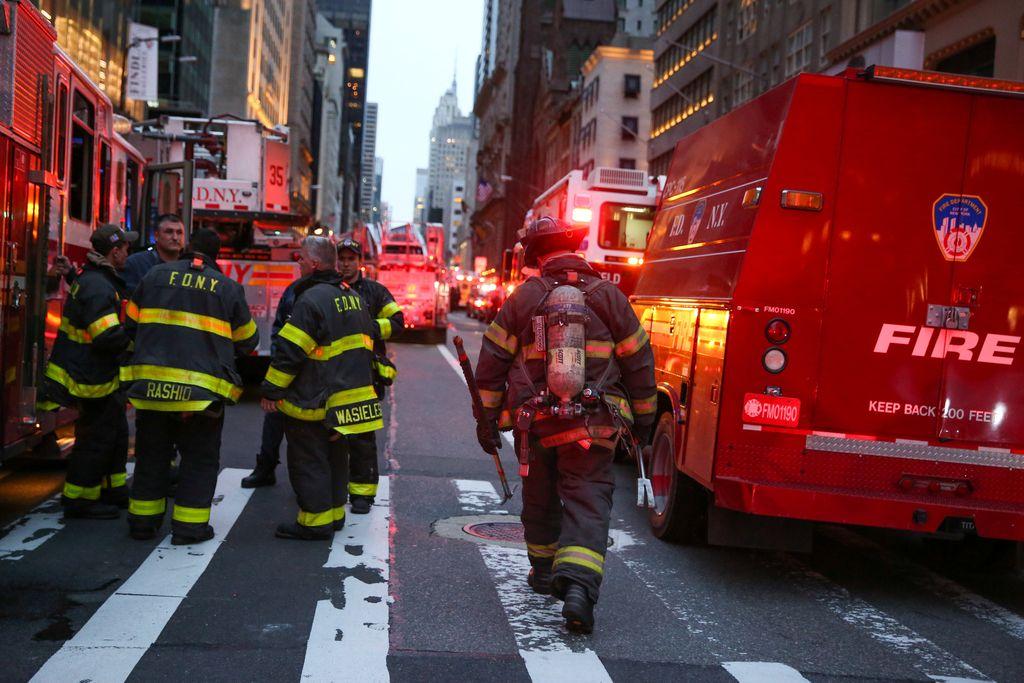 Požar v Trump Toweru zahteval smrtno žrtev