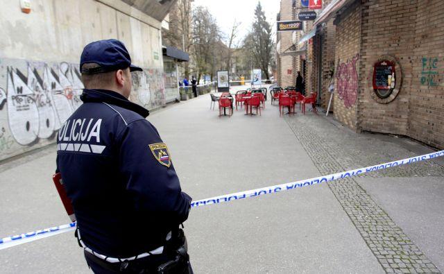 Policija na Igriški ulici