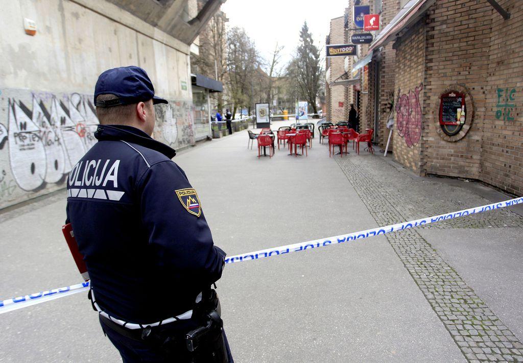 Poskus uboja sredi Ljubljane