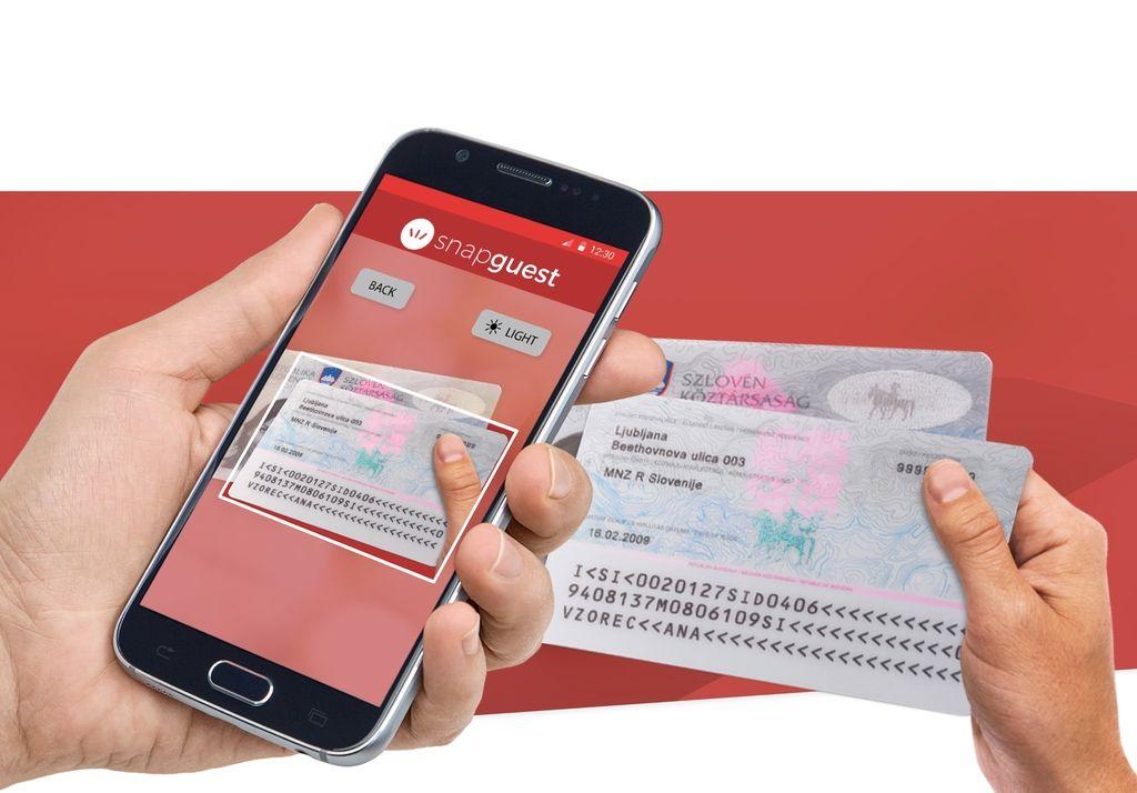 Z aplikacijo preprosta prijava gosta