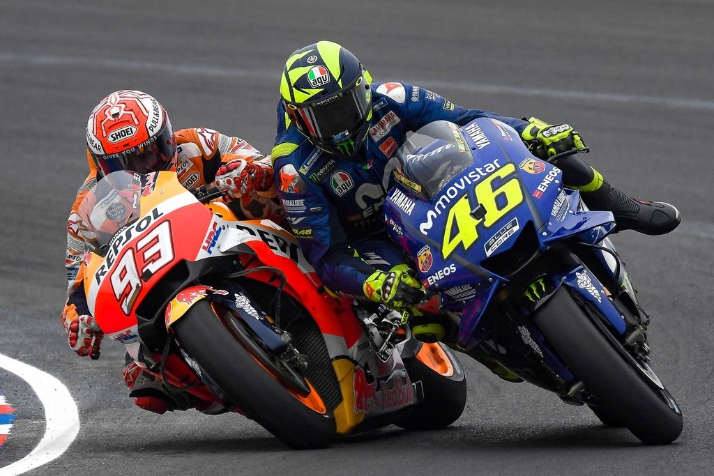 Rossi: Naj se mi Marquez ne približa več