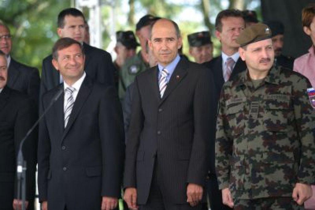 Janša predaval bodočim najvišjim častnikom SV