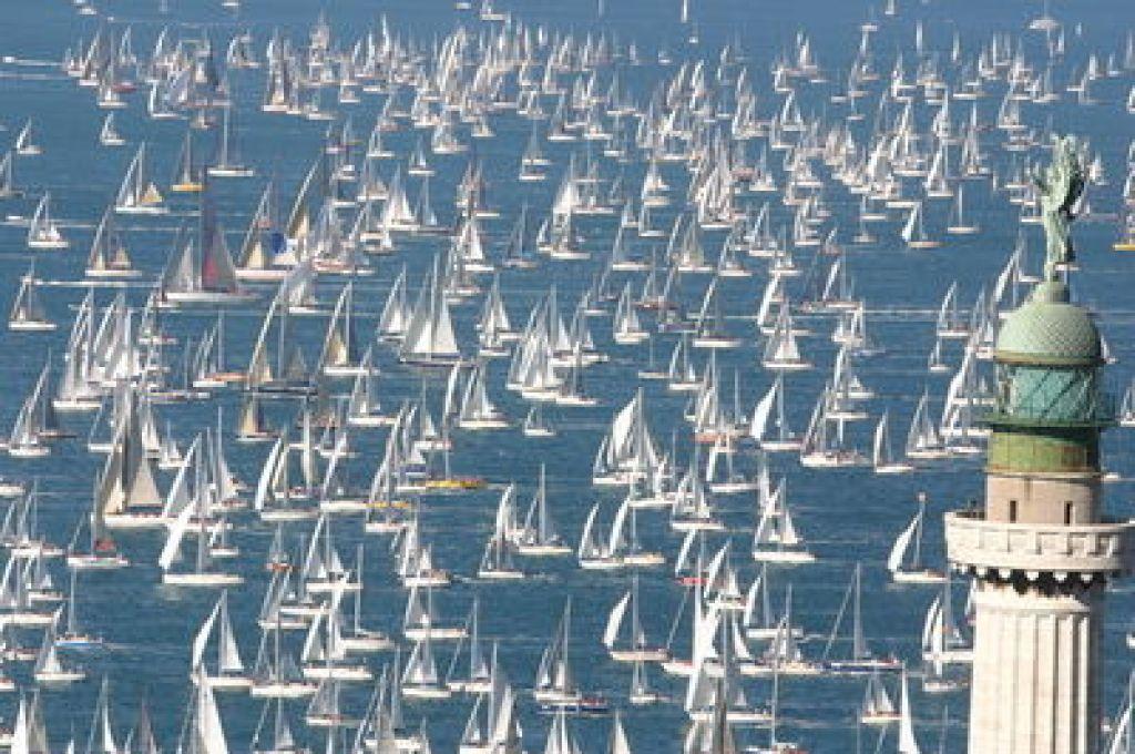 Foto:        Rekordna Barcolana največja na svetu