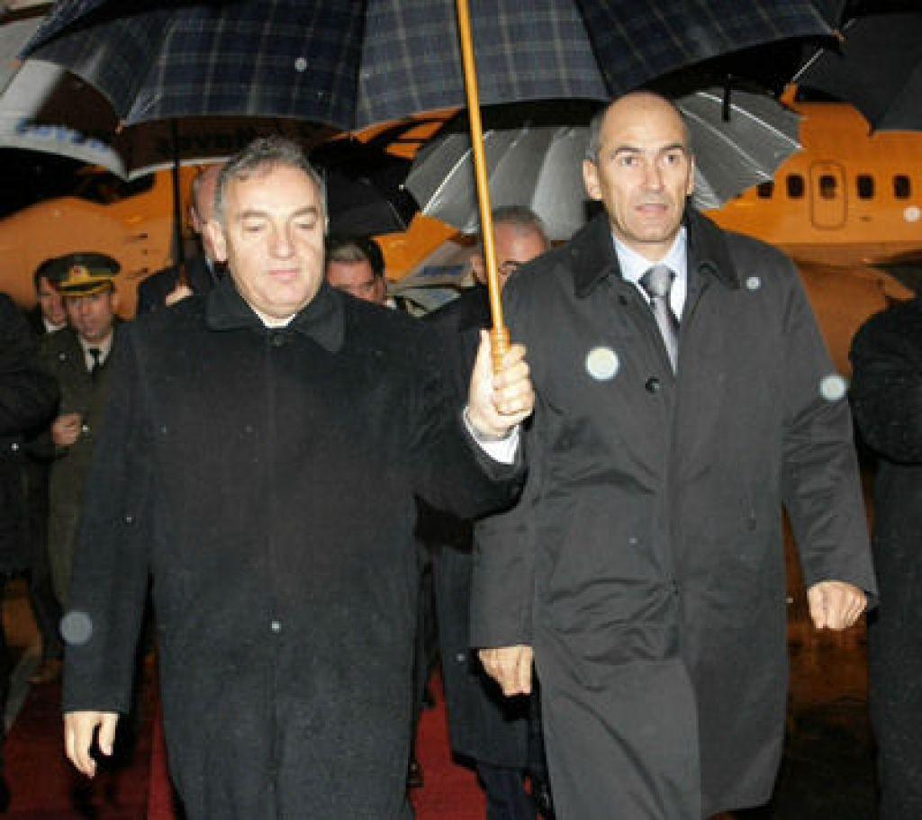 Janša v Turčiji izrazil podporo Ankari na poti v EU