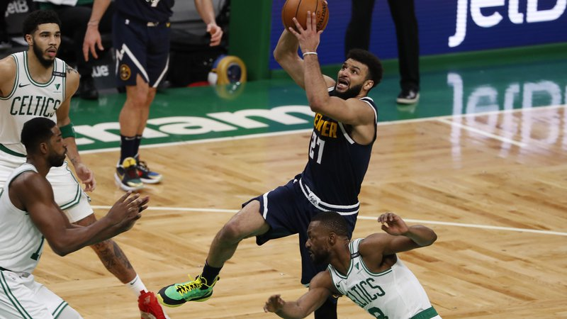 Fotografija: Jamal Murray je dosegel 50 točk. FOTO: Winslow Townson/USA Today Sports