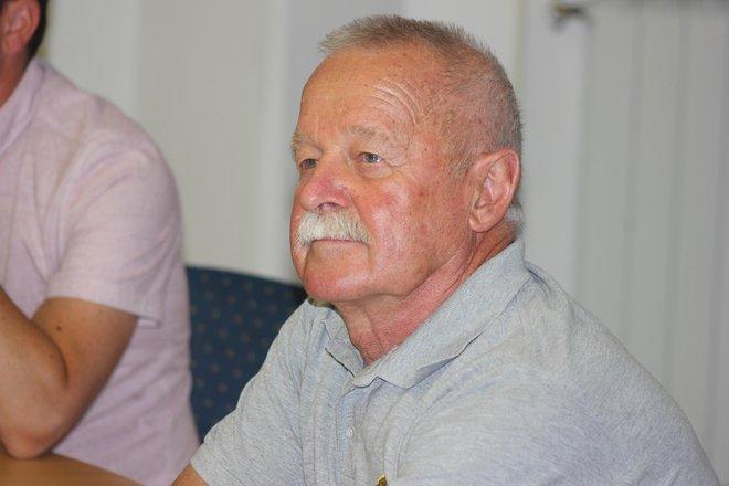 Janez Kavar je tisti, ki je zgodbo o tekmovanju na Mangartu odkril in predstavil znancu iz ZDA.FOTO: Milan Štulc