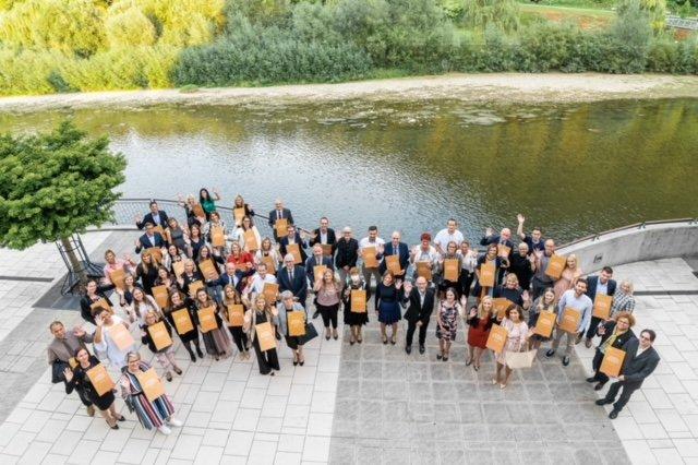 V Laškem so 62 podjetjem in organizacijam podelili pristopni certifikat Družbeno odgovoren delodajalec. FOTO: Matic Kremžar
