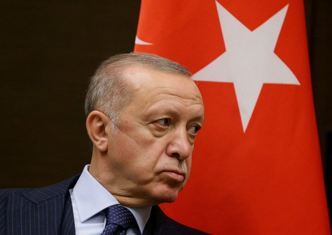 Erdogan zaradi podpore zaprtemu aktivistu izgnal deset veleposlanikov
